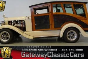 1932 International Station Wagon Woody