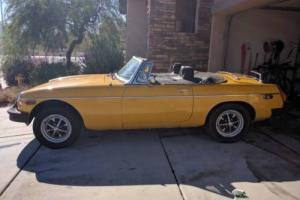 1979 MG MGB B Photo