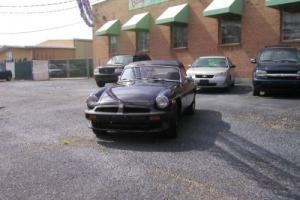 1980 MG MGB ANNIVERARY EDITION