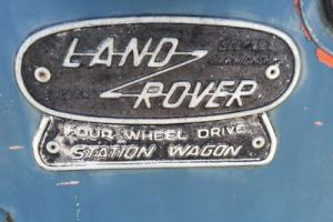 1966 Land Rover 109 STATION WAGON  SAFARI STATION WAGON