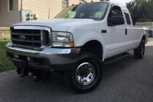 2003 Ford F-250 XLT - 4WD - Clean Carfax - 1 Owner  - Boss Plow