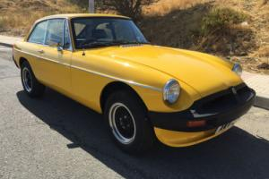 1979 MGB GT 1.8 RHD NOT LHD IN SPAIN UK REG NOT SPANISH NOT LEFT HAND DRIVE Photo