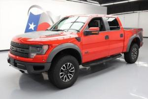 2014 Ford F-150 SVT RAPTOR CREW 4X4 6.2L SUNROOF NAV