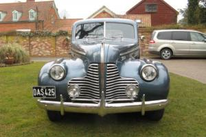 buick special coupe 1940