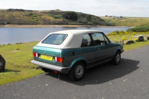VW Golf Mk1 Cabrio Photo