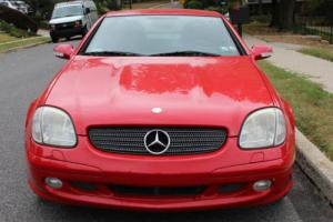 2002 Mercedes-Benz 300-Series SLK 320