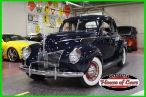 1940 Ford 5 window coupe 1940 FORD COUPE, 5 WINDOW, HOT ROD, PIN STRIPPING