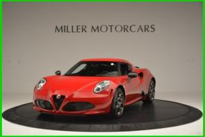 2015 Alfa Romeo 4C Launch Edition