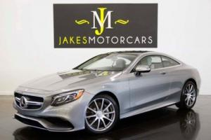 2015 Mercedes-Benz S-Class S63 AMG Coupe ($178K MSRP)