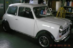 AUSTIN MINI 1000 CITY E CAR RENOVATION NEAR COMPLETION