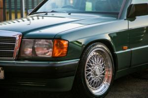 1989 MERCEDES BENZ 190E 2.0 MANUAL GREEN