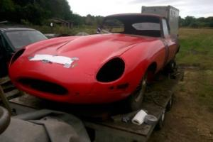 E-Type jaguar series 1 3.8 1962 project