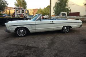 Mopar 1965 Plymouth Fury III convertible V8 UK reg MoT