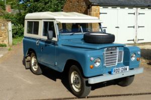 Land Rover Series 3 1981 - ultra low mileage 21,200, immaculate condition