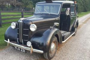 1958 Austin English Taxi and Hire Car