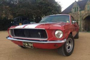 1967' Ford Mustang 3.2 Notchback Coupé Muscle Car