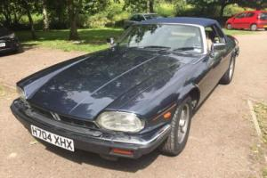 jaguar xjs convertible 49000 miles recent new MOT - VGC. Photo