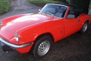 Triumph Spitfire 1500 1981 overdrive soft & hardtop Photo