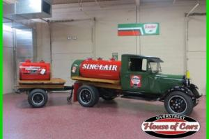 1930 Ford Model A 1930 FORD MODEL AA SINCLAIR FUEL TANKER