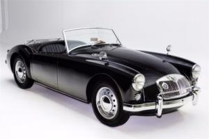 1957 MG MGA Roadster Black Twin Carbs 2 tops Photo