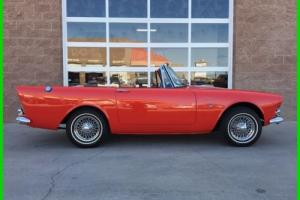 1963 SUNBEAM ALPINE SERIES III GT