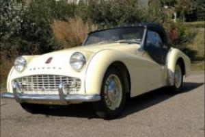 1958 Triumph TR3 Photo