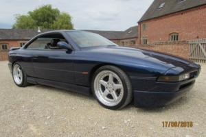 BMW 850i V12 AUTO - AC SCHNITZER BODY 1991 - STUNNING CAR WITH AWESOME PERFORMCE for Sale
