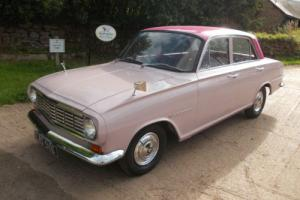 1962 VAUXHALL VICTOR IN THE VERY RARE FACTORY COLOUR SALMON PINK ! for Sale