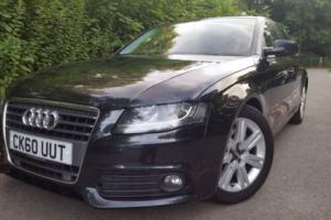 "2010 (60 PLATE) AUDI A4 ""TECHNIK"" 2.0 TDi S-LINE, TURBO DIESEL, HUGE TOP SPEC"