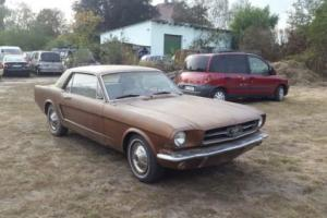 1965 Ford Mustang Coupe V8 289 Manual 4 speed run& drive A/C Poland