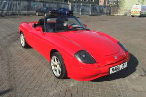 FIAT BARCHETTA LEFT HAND DRIVE. 1747cc MOT MARCH 2017. NEW HOOD. 5 SPEED. 89000