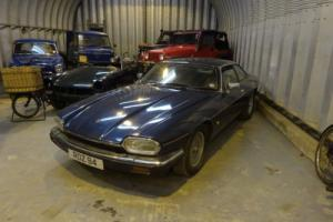JAGUAR XJ-S AUTO BLUE 4L 1993 LAST OF THE CROME BUMPER Photo
