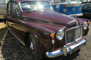 "1962 ROVER 100 ''QUEENIE"" DRIVES LOVELY!"