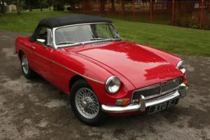 1970 MGB Roadster - Tartan Red - Long MOT, good reliable condition.