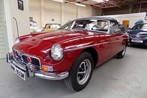 MG MGB ROADSTER Chrome Bumper 1974