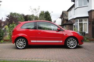2009 FIESTA ST 150bhp Colorado Red 1 previous owner Low Mileage Immaculate FSH