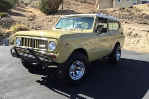1973 International Harvester Scout Base 4x4