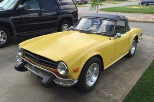 1974 Triumph TR-6 TR6 Photo