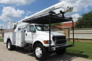 2000 Ford Other Pickups Altec Bucket Truck Diesel
