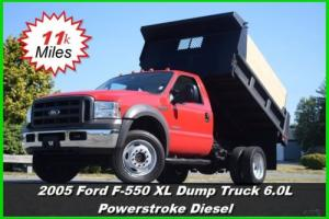 2005 Ford F-550 Chassis XL Dump Truck