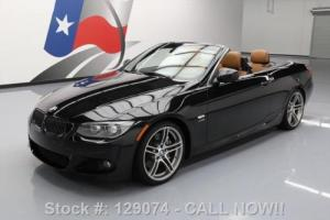 2013 BMW 3-Series 335IS CONVERTIBLE M-SPORT TURBO 6SPD 19'S