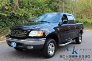 2002 Ford F-150 Supercrew XLT 4WD,ONLY 81K,ONE OWNER RUNS AND LOOK GREAT