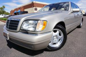 1997 Mercedes-Benz S-Class 97 S500 Sedan 2 Owner Clean CarFax ONLY 37k MILES!