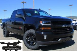 2017 Chevrolet Silverado 1500 Z71 4wd Double Cab Midnight Edition
