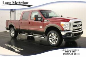 2016 Ford F-250 TURBOCHARGED LARIAT 4X4 DIESEL CREW CAB MSRP$63905