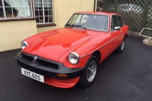 1977 MGBGT O/DRIVE 78k MILES STORED 24 YRS RECOMMISSIONED NEW MOT