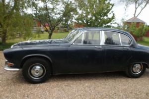 DAIMLER 420 WITH MANUAL GEARBOX + O.D