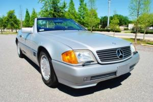 1991 Mercedes-Benz SL-Class 300SL Convertible Only 69,410 Miles 2-Tops