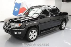 2013 Honda Ridgeline RTL CREW 4X4 LEATHER SUNROOF