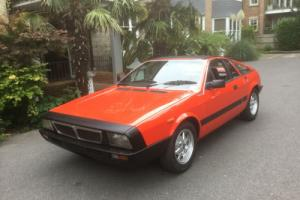 1982 Lancia Montecarlo Spider - A one owner totally mint 35000 mile example !!! for Sale